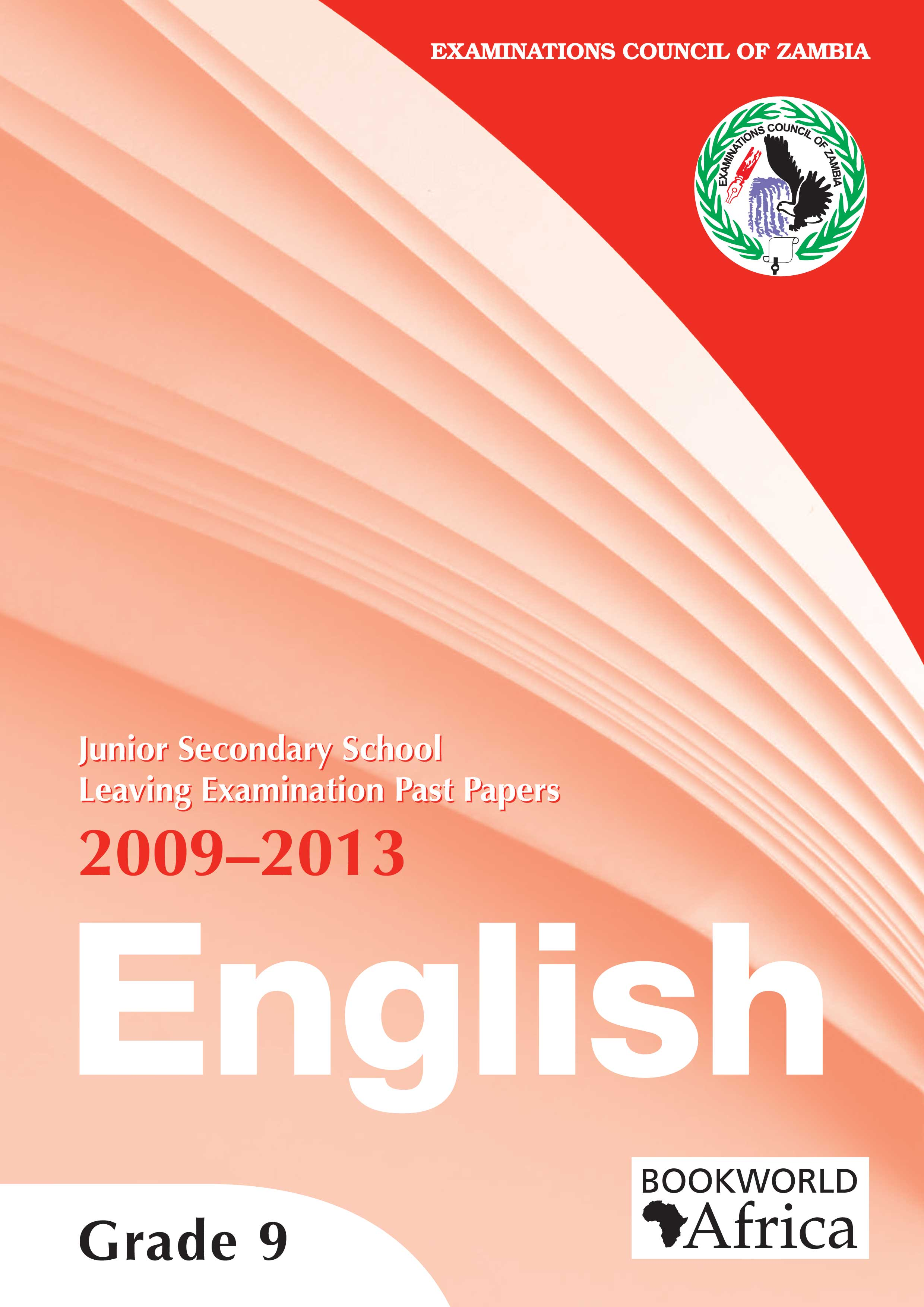 Grade 9 English Past Papers 2009-13 – Bookworld