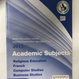 Grade 9 Religious Education Past Papers 2009-13 – Bookworld